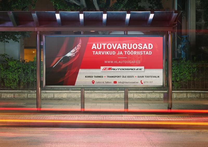 HL Autoosad reklaam
